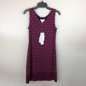 NWT Magnolia Grace Reversible Dress Pink Purple S